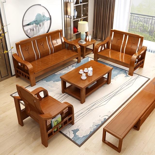 sofa go 10 copy - Bộ bàn ghế sofa gỗ đẹp hiện đại sang trọng đẳng cấp