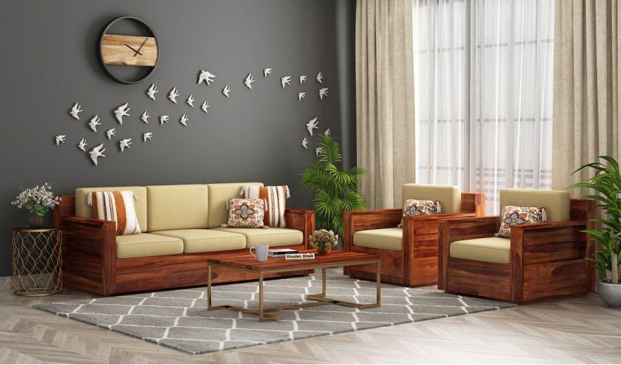 sofa go dep 1 - Bộ bàn ghế sofa gỗ đẹp hiện đại sang trọng đẳng cấp