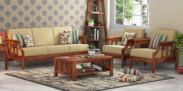 sofa go luxury 7 - Bộ bàn ghế sofa gỗ đẹp hiện đại sang trọng đẳng cấp