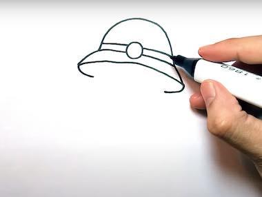 ve chu bo doi 5 - Hướng dẫn cách vẽ chú bộ đội đẹp chi tiết từ A - Z và nhanh nhất