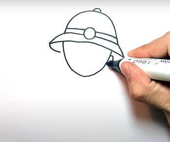 ve chu bo doi 7 - Hướng dẫn cách vẽ chú bộ đội đẹp chi tiết từ A - Z và nhanh nhất