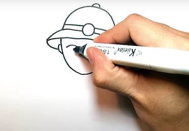 ve chu bo doi 8 - Hướng dẫn cách vẽ chú bộ đội đẹp chi tiết từ A - Z và nhanh nhất