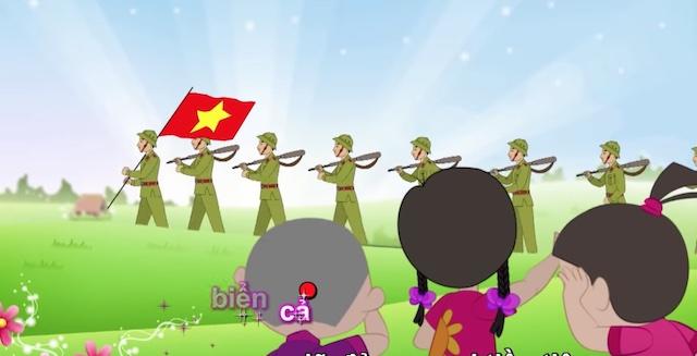 ve chu bo doi hanh quan 1 - Hướng dẫn cách vẽ chú bộ đội đẹp chi tiết từ A - Z và nhanh nhất