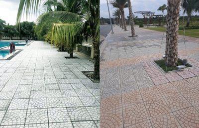gach lat via he terrazzo 400x257 - Tổng hợp các loại gạch lát vỉa hè bền đẹp và báo giá cạnh tranh
