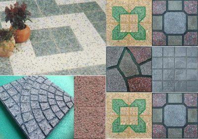 gach terrazzo 400x281 - Báo giá kích thước loại gạch terrazzo lát vỉa hè mới nhất