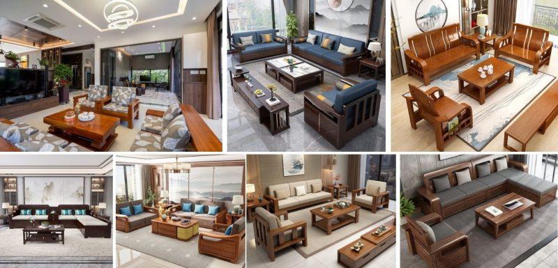 sofa go 800x385 - Bộ bàn ghế sofa gỗ đẹp hiện đại sang trọng đẳng cấp